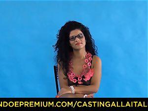 audition ALLA ITALIANA - Romanian nympho backside humped